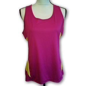 3/$25 Tek Gear Athletic Racerback Tank Top Large